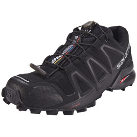 Salomon W's Speedcross 4 Shoes black/black/black metallic